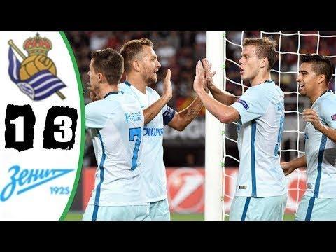 Real Sociedad vs Zenit (1-3) - All Goals & Highlights - EUROPA LEAGUE 07/12/2017 HD