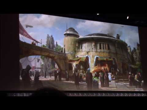 Star Wars Land Panel with Imagineers and Lucasfilm - Star Wars Celebration 2017