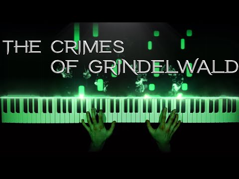 The Crimes of Grindelwald - Fantastic Beasts Theme - solo piano   tutorial   how to play (alt vers)