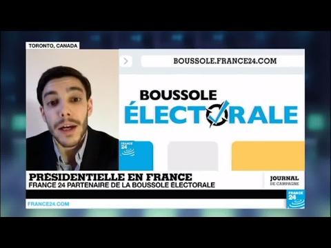 Présidentielle en France : France 24 partenaire de la boussole électorale