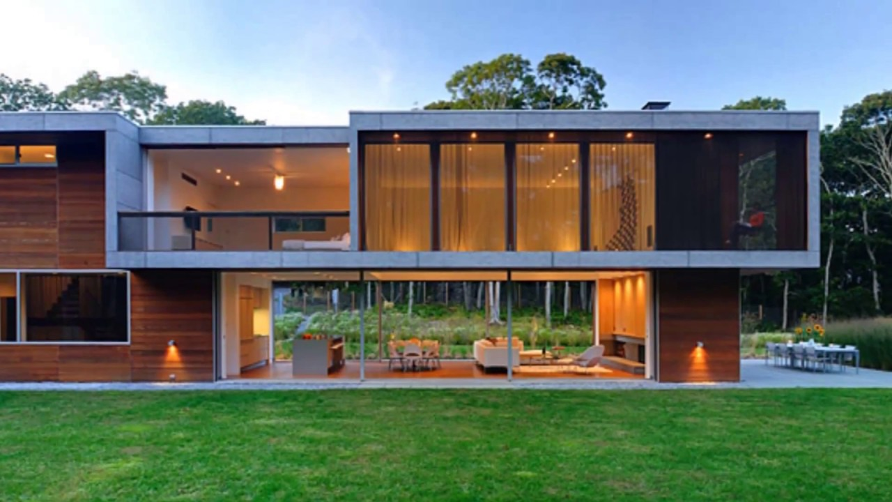 Contemporary Houses Youtube