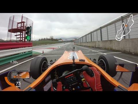 HD   First POV in Formula 3 car at Mugello Circuit - Mikkel Jensen