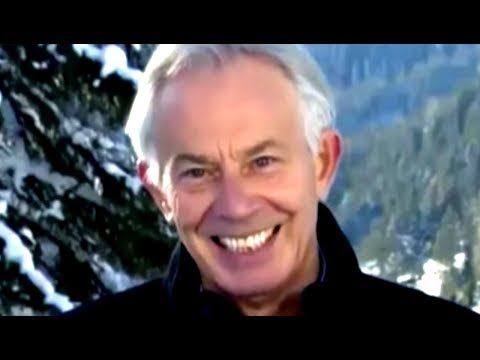 Power-Mad Tony Blair Defends Billionaire Festival
