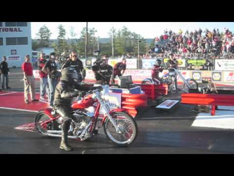 Pinks Chopper Drag Race, Final Deciding Race, Chandler Originals VS A-1 Cycles
