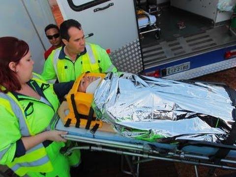 Helio Castroneves Crash
