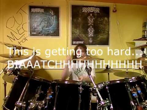 Algebra (Thrash Metal) - New Album 2014 Studio Teaser, Part 1 - Drums