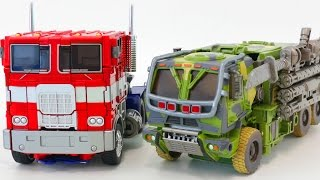 Transformers Oversized Hound Optimus Prime Vehicle Car Toys 트랜스포머 증강판 하운드 옵티머스 프라임 자동차 장난감 로봇 변신 동영상