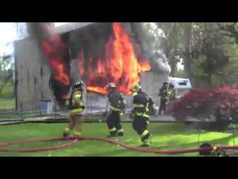 firefighters in action - YouTube