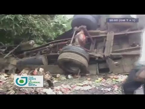 STV WEEKEND BILINGUAL NEWS 08:00 PM - (SERIOUS ACCIDENT near MUYUKA : 19 DEAD) - Samedi 19 Août 2017