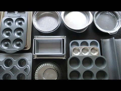 Baking Pans! Second Video in the Essential Kitchen Gadgets Series