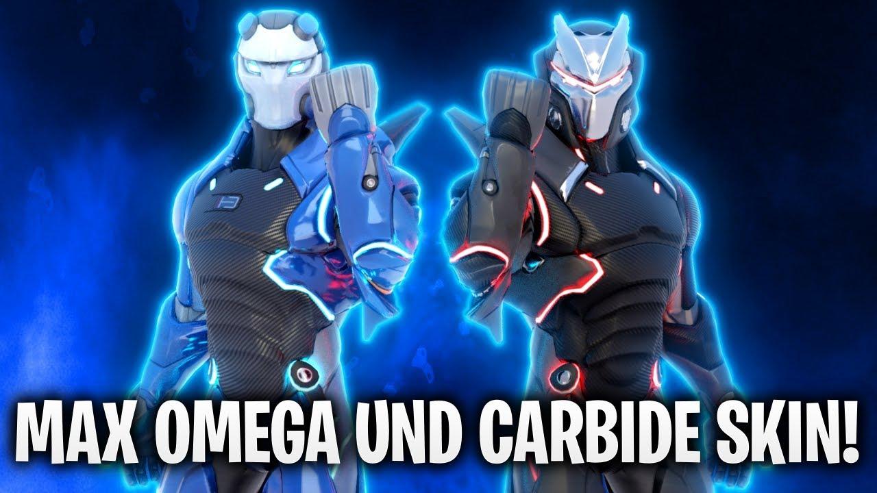 Max Omega Und Carbide Skins Fortnite Battle Royale Youtube