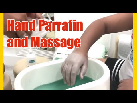 HAND MASSAGE WITH HAND PARAFFIN TREATMENT