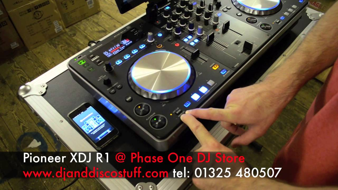 PIONEER XDJ-R1 DJ SYSTEM DOWNLOAD DRIVERS