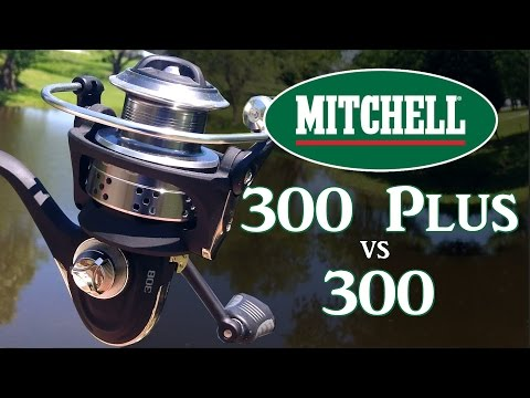 Mitchell 300 Vs 300 PRO - Spinning Reel Review