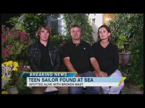 Abby Sunderland's Parents Relieved - YouTube