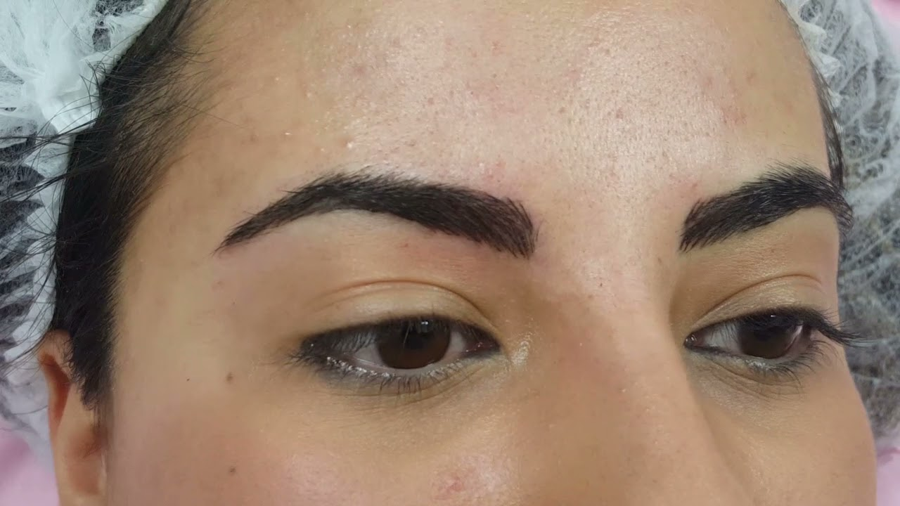 3D Structured Realism Eyebrows Microblading @ Perfect Definition in London by El Truchan