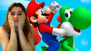 Si os gusta verme enfadada estos videos os encantarán xD / New Super Mario Bros #2