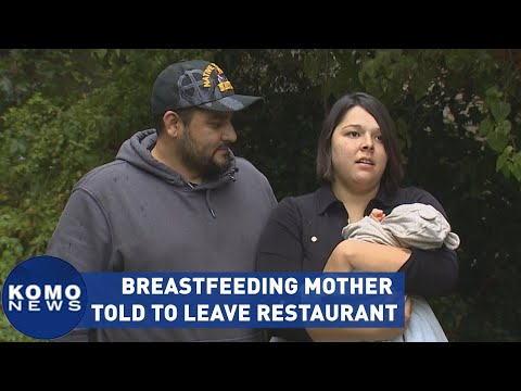 Breastfeeding mother told to leave and 'never come back' to restaurant