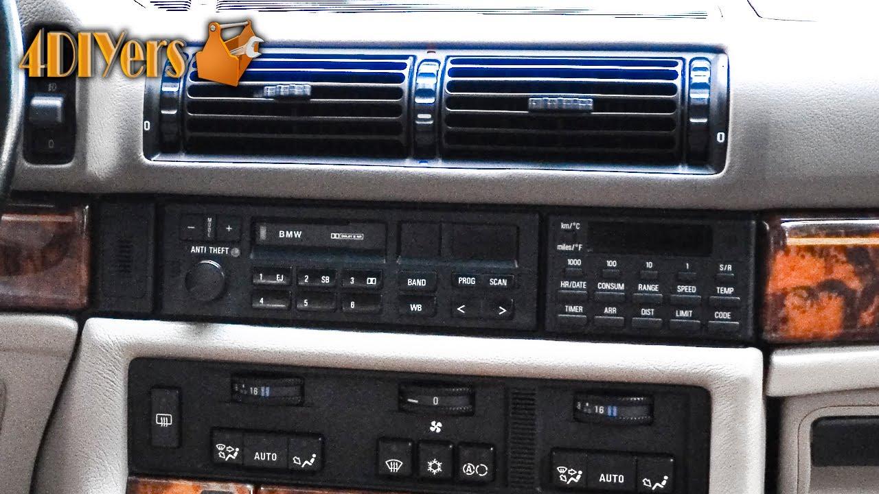 DIY: BMW Radio Removal  YouTube