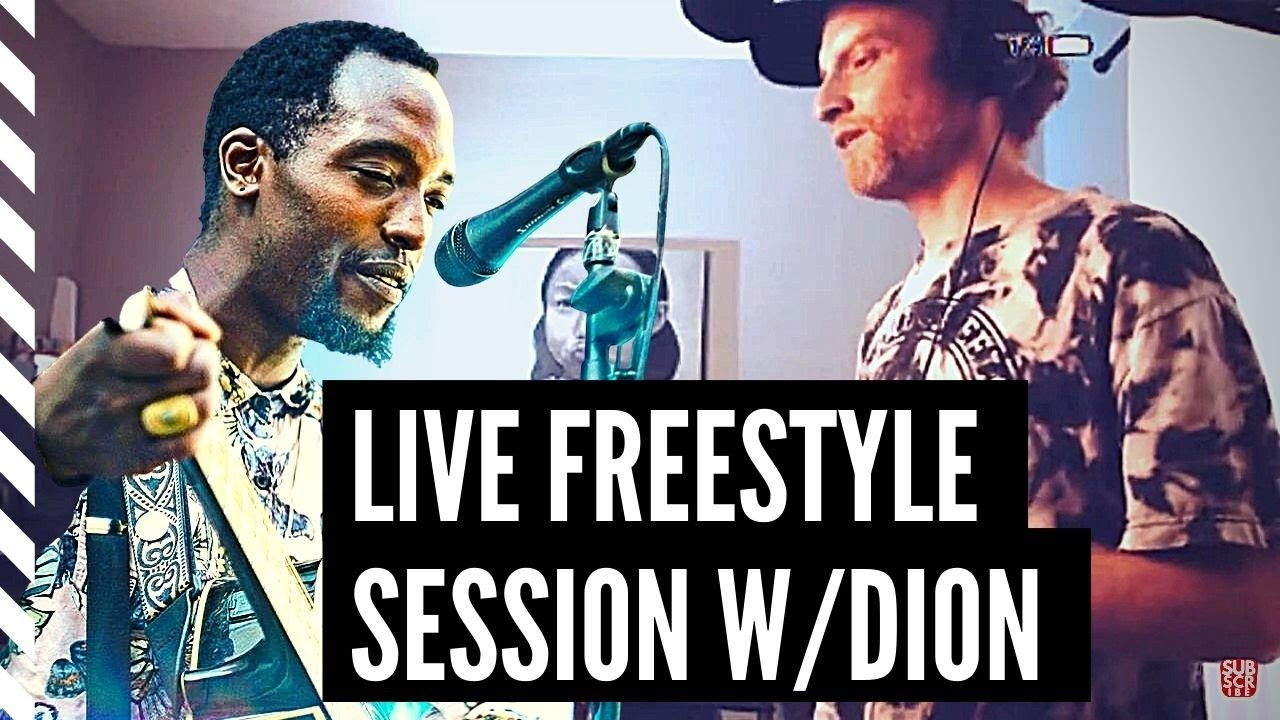 How to Freestyle Rap Live Session With Dion