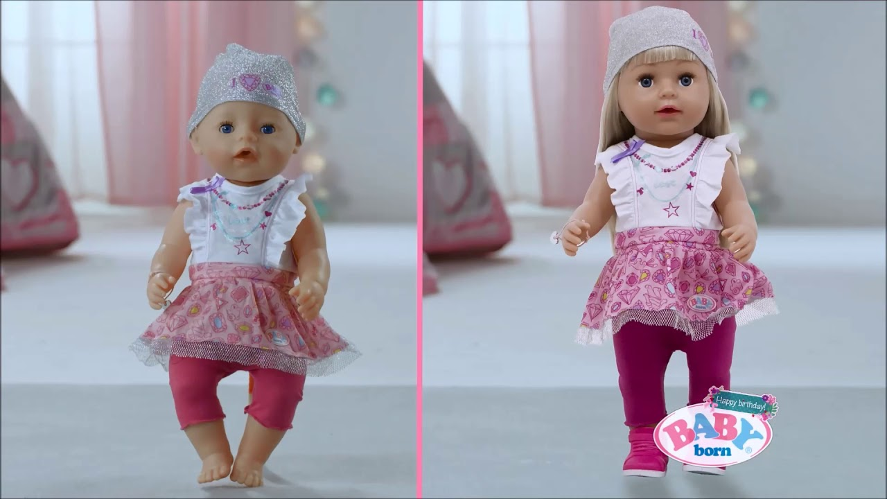 Smyths Toys Baby Born Sister Doll Youtube