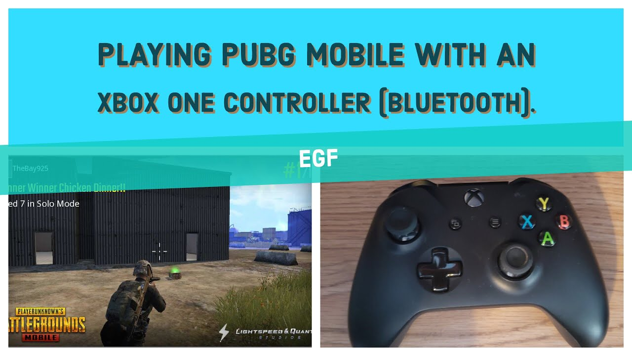 c5665f45a98 Playing PUBG Mobile wtih An Xbox one Controller (Bluetooth) - YouTube