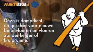 PARKETREUS TV - Silencio ondervloer leggen