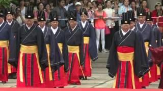 新華社》海峽兩岸舉辦首次聯合祭孔大典