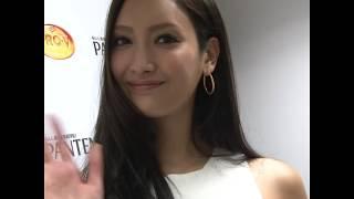 女優でモデルの菜々緒さんが「パンテーン2016年秋 新CM発表会」に出席しま...