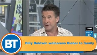 Billy Baldwin on his niece's engagement to Justin Bieber