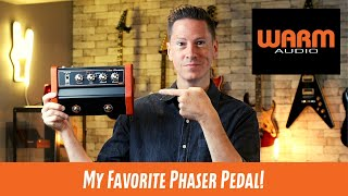Warm Audio Jet Phaser Guitar Pedal Demo on Guitar, Bass and Vocals!