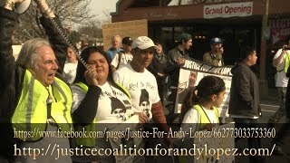 Andy Lopez Youth Coalition - Sunday 02-18-14  March Part 1 of 3
