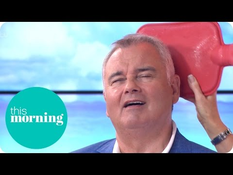 Eamonn Gets a Cold Water Bottle Head Rub From Ruth | This Morning