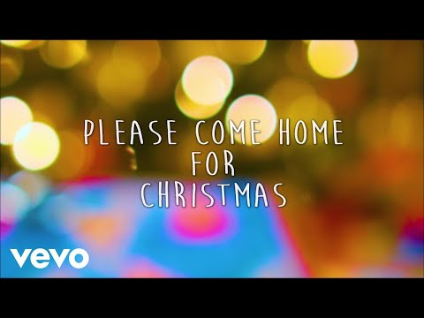 Gary Allan - Please Come Home For Christmas (Lyric Video)