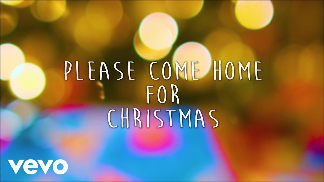 Please Come Home For Christmas Lyrics.Gary Allan Please Come Home For Christmas Lyric Video