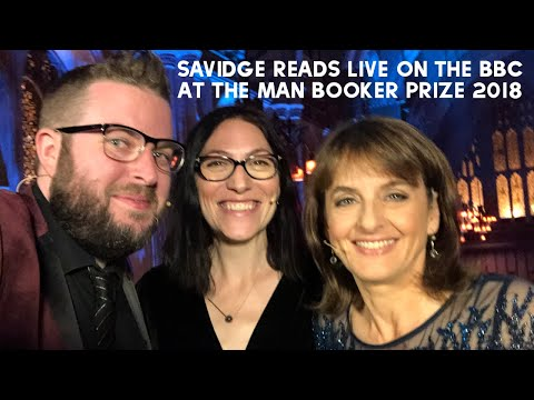 Live On The BBC At The Man Booker Prize 2018