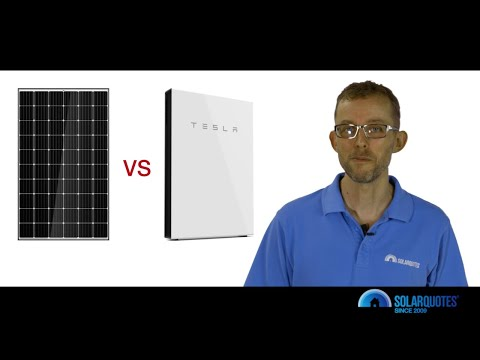 Solar Vs. Solar + Battery - What's The Better Investment In