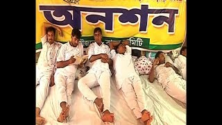 West Bengal Education Minister meets primary teacher who are on hunger strike, but no solution found