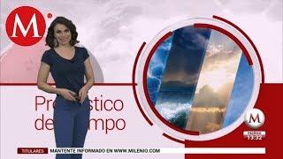 El clima del 22 de febrero, con Arlett Fernández