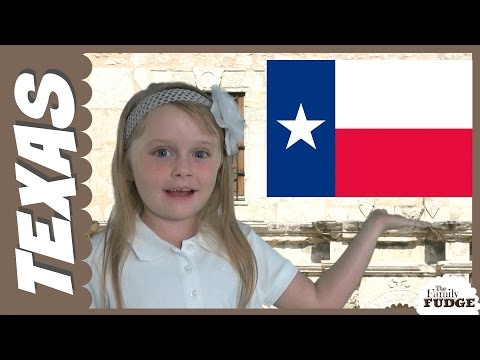 Information about Texas || for KIDS by KIDS ||The Family Fudge