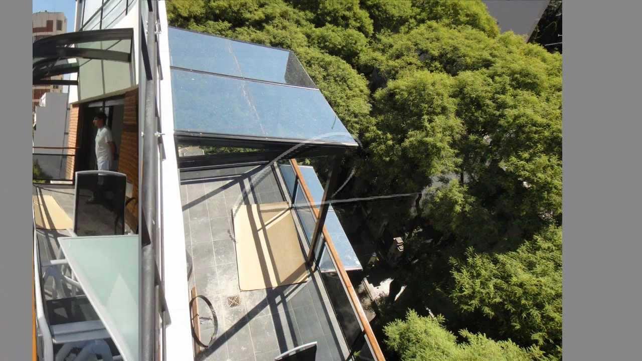 Cerramientos en cristal templado y techo fijo en cristal for Modelos de comedores de vidrio