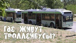 Где живут троллейбусы
