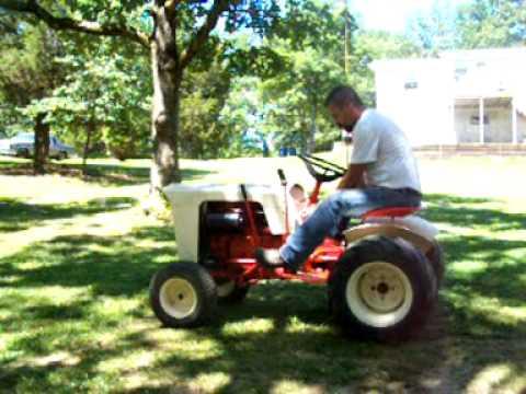 1965 Case 130 Garden Tractor - YouTube