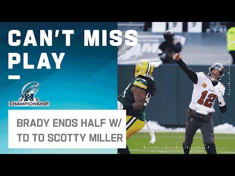 Brady Stuns Packers w/ Buzzer-Beater TD to Scotty Miller!