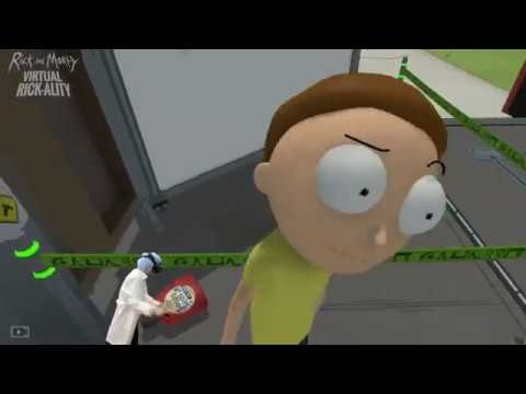 Rick and Morty VIRTUAL RICK-ALITY - Minimum Viable Morty - VR Gameplay