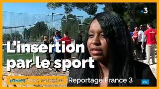 Terre d'emploi : le sport pour amener vers des formations qualifiantes - Sarah Soilihi | France 3
