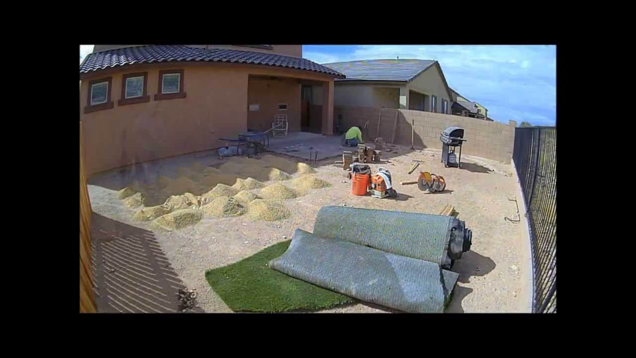 How To Landscape A Dirt Yard Youtube