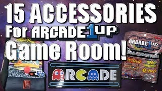 15 Accessories for your Arcade 1Up Game Room!