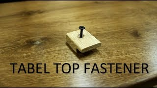 Tabel top fastener