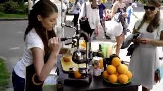 фрэшница ручная (3 секунды и сок готов) Пресс для цитрусовых